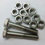 aliazh 20 bulonave dhe arra fastener prej çeliku inox uns n08020
