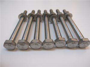 Shitje më të mirë Qulity Hex Head DIN933 Titanium Bolt Gr2