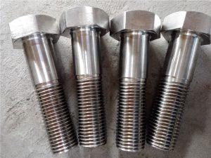 Nr.15-Nitronik 50 XM-19 Hex bulon i dritës DIN931 UNS S20910
