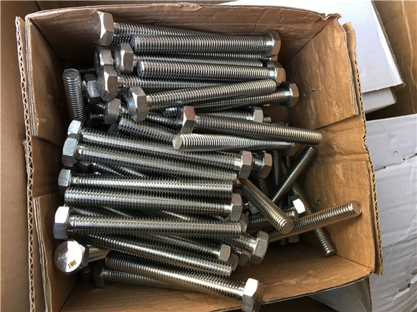 310s / 1.4845 fasteners speciale prej çeliku të pandryshkshëm rondele arrë hex bolt m24 * 80mm
