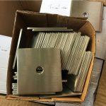 rondele / mbërthyes i pllakave katrore prej çeliku inox super duplex s32205 (f60) i personalizuar