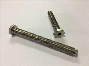 Nr.64-Mbërthim i Titaniumit i Holluar me Alia çelësin Titanium 6Al4V Kryesor i enës