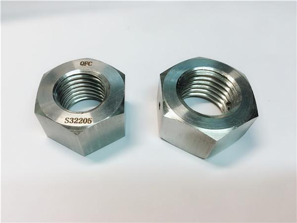 arrë çeliku prej çeliku inox din934, arrë dopleksike çeliku inox