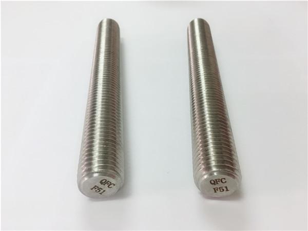 shufra çeliku inox duplex2205 / s32205 din975 / din976 shufra fije f51