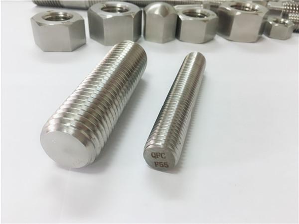 fasteners çeliku inox f55 / zeron100 shufra e plotë e filetuar s32760