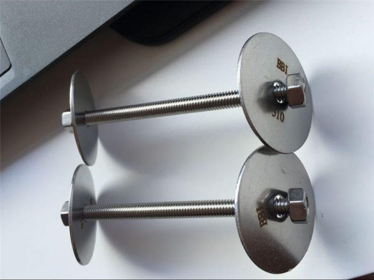mbërthyes ss310 / ss310s astm f593, bulonave prej çeliku inox, arra dhe rondele
