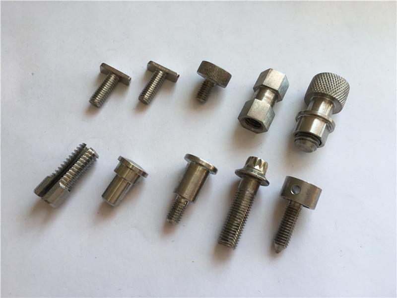 vidhos personalizuar me precizion të lartë jo-standard, vidhos CNC çelik inox vidhos