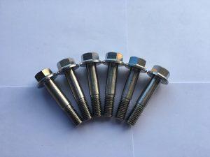 din 7504 super dupleks f55 çeliku inox gjashtëkëndësh fllanxhë vidë vetë-shpuese