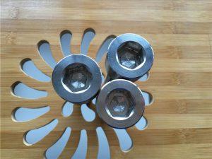 cilësi të lartë vidhë AS2 hex fole Titanium / bulon / arrë / rondele /