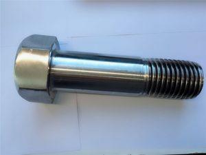 çeliku inox super dupleks çeliku inox din931 gjysëm i lidhur me gjilpërë